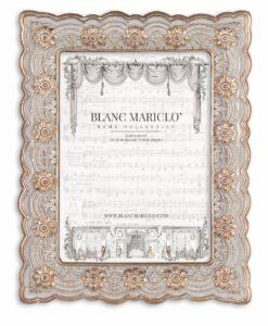 Porta foto Blanc Mariclò Cavaliere della rosa Collection H 23,2 cm