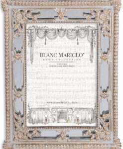 Porta foto Blanc Mariclò Cavaliere della rosa Collection H 24,6 cm