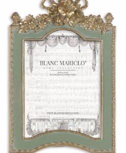Porta foto Blanc Mariclò Cavaliere della rosa Collection H 27 cm