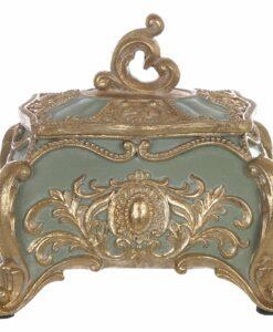 Cofanetto Blanc Mariclò Cavaliere della rosa Collection H 11 cm