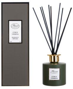 Diffusore per ambienti con bastoncini Blanc Mariclo Citrus Verbena Lirica Collection
