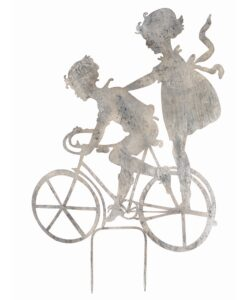 Decoro giardino Blanc Mariclò Enfants Collection Bicicletta