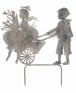 Decoro giardino Blanc Mariclò Enfants Collection Carriola