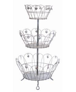 Porta piante in ferro Blanc Mariclò Cuore a cuore Collection