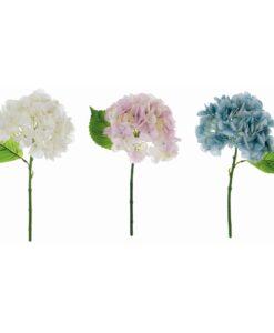 Ortensia fiore artificiale Blanc Mariclo
