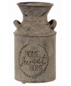 Contenitore in ferro Blanc Mariclò Irma Collection H 25 cm