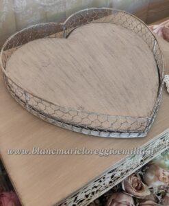 Vassoio Blanc Mariclo Cuore Collection
