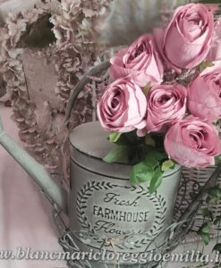 Annaffiatoio in ferro Blanc Mariclò Irma Collection H 38 cm