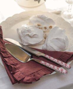 tovaglioli misto lino con gala Blanc Mariclo Frill Collection Bianco latte