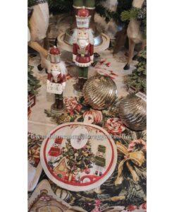 Runner Blanc Mariclo Christmas Carol Collection