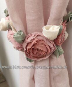 Embrasse tenda con rose Blanc Mariclo