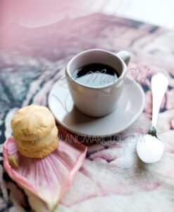 tazze caffè con piattino Blanc Mariclo Cloud Gridellino