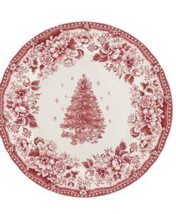Vassoio tondo Blanc Mariclo Diana Rose Christmas