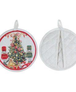 Presina tonda Blanc Mariclo Christmas Carol Collection