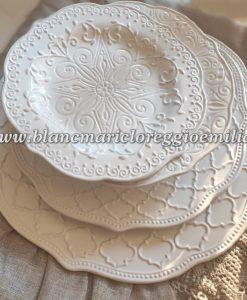 Piatti Blanc Mariclo Craquele Collection